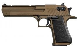 "Magnum Research DE44CABB Desert Eagle .44 Magnum 6"" 8+1 Burnt Bronze Black Grip *CA Compliant*"