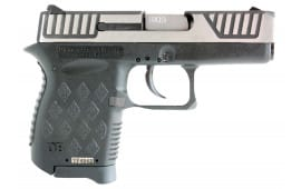 "Diamondback DB9SL DB9 DA 9mm 3"" 6+1 Polymer Grip SS/Black"