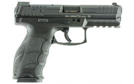 "HK 700009LELA5 VP9 Double 9mm Luger 4.09"" 10+1 3 Mags NS Black Interchangeable Backstrap Grip Black"