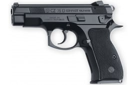 "CZ 91194 CZ 75 PCR Compact DA/SA 9mm 3.75"" 14+1 Black Rubber Grip Black"