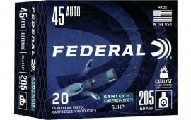 Federal S45SJT1 45 ? SJHP - 20rd Box