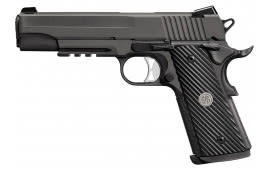 "Sig Sauer 1011R10TACOPS 1911 Single 10mm 5"" 8+1 Black Ergo XT Grip Black Nitron Stainless Steel"