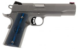 """Colt O1073CCS 1911 Competition 70 Series Single 38 Super 5"""" 9+1 Blue G10 w/Logo Grip Stainless Steel"""