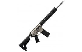 """Black Rain BROURBANNG Recon BRO Urban Semi-Auto 308 Winchester/7.62 NATO 16"""" 30+1 Magpul MOE SL Nickel"""