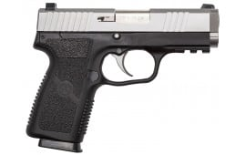 "Kahr Arms SW9093 S9 Double 9mm 3.6"" 7+1 Black Polymer Grip Stainless Steel"