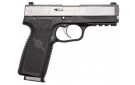 "Kahr Arms ST9093 ST9 Double 9mm 4"" 8+1 Black Polymer Grip Stainless Steel"