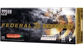 Federal P223TC1 223 55 TRP COP - 20rd Box