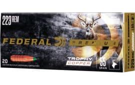 Federal P223TC1 223 55 TRP COP - 20rd Box