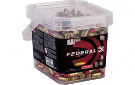 Federal AE9SJ2B250 9mm 124 Synthetic - 250rd Box