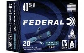 Federal S40SJT1 40 ? SJHP - 20rd Box