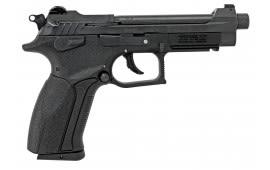 "Grand Power K22S DA/SA 22 LR 5"" TB 10+1 Black Polymer Grip Black"