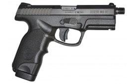 "Steyr 39.723.2KSD M9-A1TB Double 9mm 4.5"" 17+1 Threaded Black Polymer Grip"