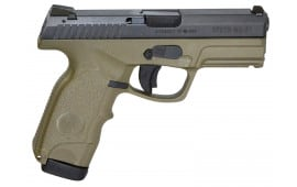 "Steyr 39.725.2K M9-A1 Double 9mm 4"" 17+1 Green Polymer Grip"