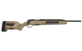 """Steyr 26.046.3M Scout Bolt .223/5.56 NATO 19"""" FB 5+1 Synthetic Brown Stock Black"""