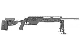 "Steyr 60.633.3KL SSG 08-A1 Bolt 308 Winchester/7.62 NATO 23.6"" HB 10+1 Folding Adjustable Black"