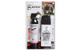 Udap 15CP Super Magnum Bear Spray w/Chest Holster 9.2oz/260g Up to 35 Feet Black