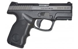 "Steyr 39.821.2 S9-A1 Double 9mm 3.6"" 10+1 Black Polymer Grip"