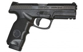 "Steyr 39.621.2K L9-A1 Double 9mm 4.5"" 17+1 Black Polymer Grip"