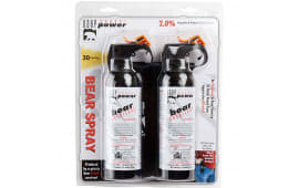 Udap BS2 Bear Spray 7.9oz/225g Up to 35 Feet 2-Pack Black