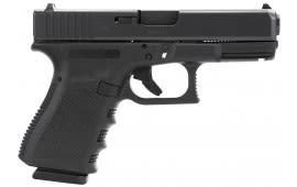 "Glock PI3850201 G38 Standard Double 45 GAP 4.01"" 8+1 Black Polymer Grip/Frame Grip Black"