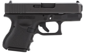 "Glock PI3950201 G39 Standard Double 45 GAP 3.42"" 6+1 Black Polymer Grip/Frame Grip Black"