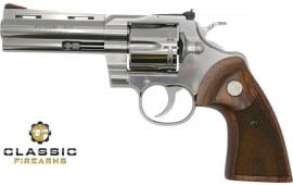 "Colt Manufacturing Python .357 Magnum 4.25"" Barrel 6-Shot Stainless Steel Revolver python-sp4wts"