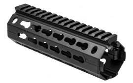 NcSTAR AR15 KeyMod Handguard Carbine Length Two Piece Drop In Aluminum Black VMARKMC