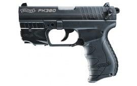 "Walther Arms 5050310 PK380 DA/SA 380 ACP 3.66"" 8+1 w/Laser Poly Grip Black"