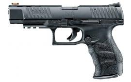 "Walther 5100302 PPQ M2 .22 22 LR 5"" 12+1 FO Black Poly Grip Black Finish"