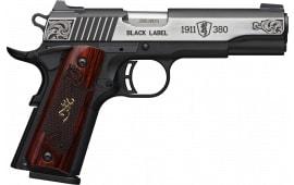 Browning 051-956492 1911 380 BLKLBL 3D 4.25 ENG MED
