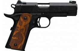Browning 051-872490 BKMK 22 1911 BLKLBL 35/8 Logo