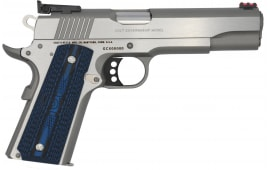 Colt Defense O5073GCLTT Gold CUP Lite .38 Super TWO-TONE Red Fiber Optic G10