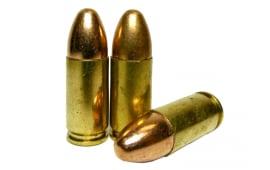 Fedarm 9mm 115gr TMJ Lead Core RN - 1000rd Bulk Pack