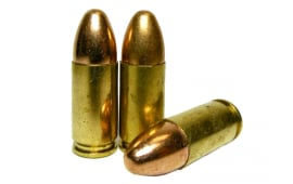 Fedarm 9mm 115gr TMJ Lead Core RN - 500rd Bulk Pack
