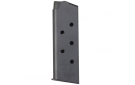 ASC Compact 1911 45 ACP 7rd Mag, Black Oxide Finish, Black Floor Plate - No Oil