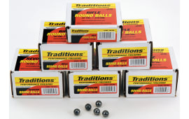 Traditions Revolver .44 Cal 140 GR Round Ball Ammo A1647 - 100rd Bulk Pack