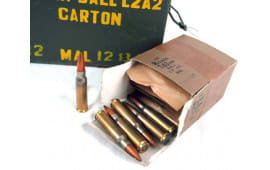 Malaysian 7.62 NATO/.308 147 GR FMJ Ball Ammo - 900rd Crate