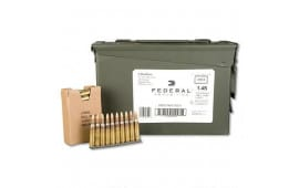 Federal Ammo 5.56mm NATO 55gr MCBT 10rd Stripper Clips, XM193LC1AC1 - 420rd Can