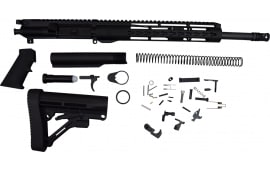 "AR15 Rifle Kit 16"" 5.56 1:8 12"" HERA Arms Unmarked Keymod Rail - Complete Less Lower Receiver"