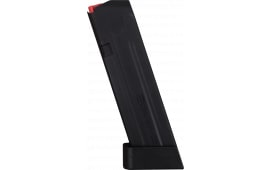Glock 17 Premium Aftermarket 9mm Magazine, 18 rounds, by Amend2 Firearms, Black
