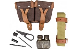 Military Surplus Mosin Nagant Accessory Set W/ Pouch, Sling, Tool Set and Oil Bottle