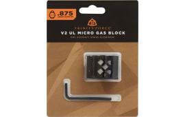 V2 UL Micro AR Aluminum Gas Block .875 w/ Roll Pin - GT875AN