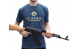 Classic Firearms T-Shirt - Navy