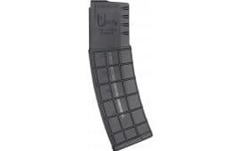 AR-15 40 Round Magazine By A.C. Unity - 5.56 Nato /.223, Military Grade, Black With Clear Round Count Window - High Quality .. Made In Bosnia