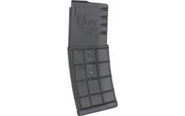 AR-15 30 Round Magazine By A.C. Unity - 5.56 Nato /.223, Military Grade, Black With Clear Round Count Window - High Quality .. Made In Bosnia