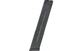 Glock 30 Round Magazine By A.C. Unity - 9mm, Military Grade, Black With Clear Round Count Window - Fits All Glock 17, 19, 26. etc. Made In Bosnia