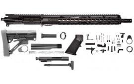 "Charlie Bravo AR-15 RIFLE KIT – 16"", 5.56 NATO, 1:8, 15″ Hera Keymod Free Float Rail , BCG, Charging Handle, Buttstock, Lower Parts Kit - Complete Less Stripped Lower - Mfg # 205-431"