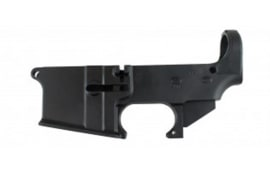 "AR-15 80% "" No Name Lower"" Receiver - Black Anodized - No FFL Required - Made In The USA"