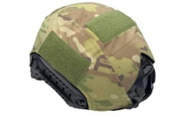 Guard Dog Body Armor FAST Level 3a Ballistic Helmet - Black W/ Multicam Cover - FAST-HELMET