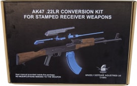 AK-47 .22L.R. Conversion Kit for Stamped Receiver AK Rifles - No Modifications Required